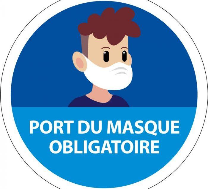 31.08.2020 – Arrêté préfectoral – Port du masque marchés et écoles