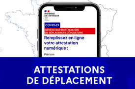Reconfinement- Attestations de sortie