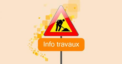 Travaux Rue Pasteur et Rue G. de Gaulle 23/09/2021 au 23/01/2022