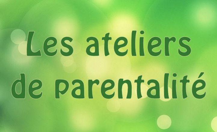 Ateliers parentalité CDCME du 13/11/21 au 29/01/2022